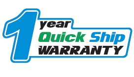 Buy From Quick Ship 1 Year Warranty